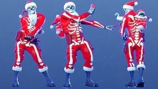 YULE TROOPER Christmas Skin w/ All Dances & Emotes FORTNITE