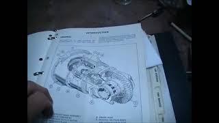 Hyster Forklift H50J Oil Leak Fix
