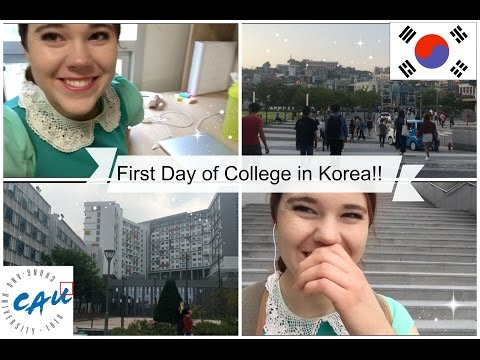 First Day of University In Korea!!