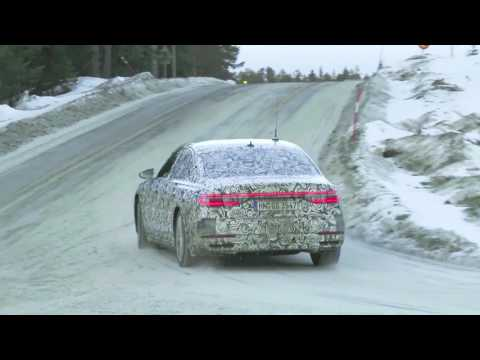 2018 Audi A8 Caught Testing In The Snow