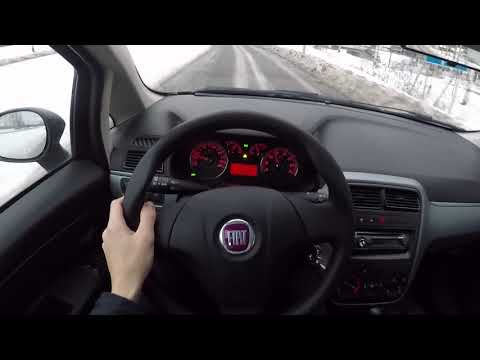 Fiat Grande Punto Manual  - POV Test Drive