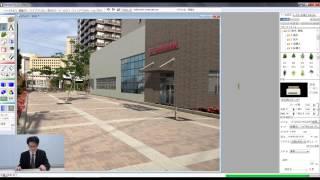 Piranesi 6.2 動画 EPixカメラを使ったフォトモンタージュ手法