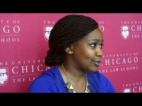 Michelle Mbekeani-Wiley, '14 - My Chicago Law Moment - YouTube