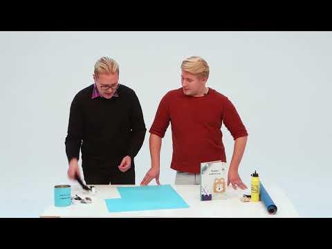 Kaikki paketissa: sukat maalipurkissa - Suomalaisen ideat askarteluun