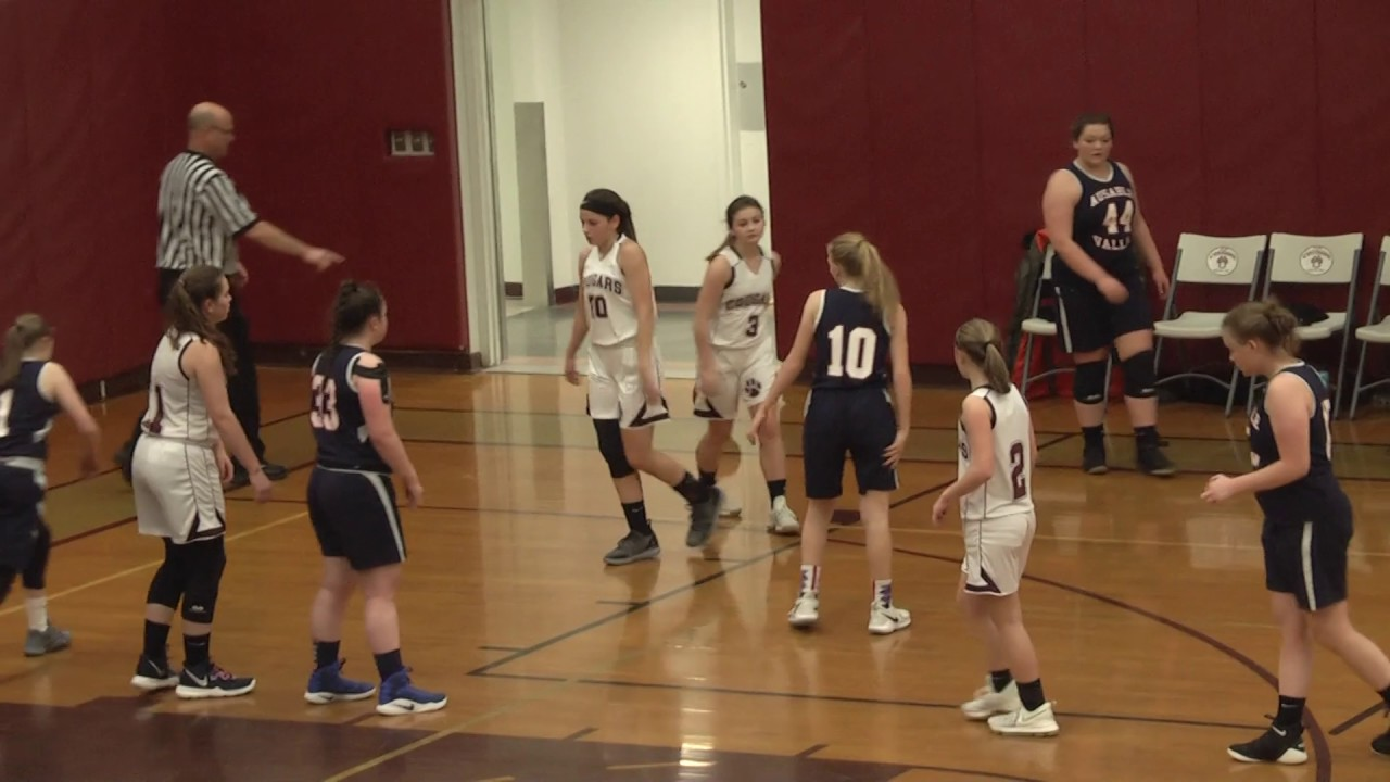 NCCS- AuSable Valley JV Girls  1-17-19