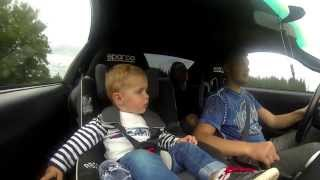 Reaction of one and a half year old boy In 600HP 2JZ MKIV Toyota Supra | Wow is 1st word
