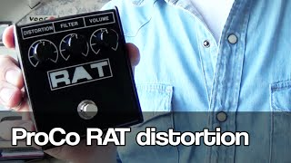 ProCo RAT distortion | RAT2 | played with Tele and Les Paul