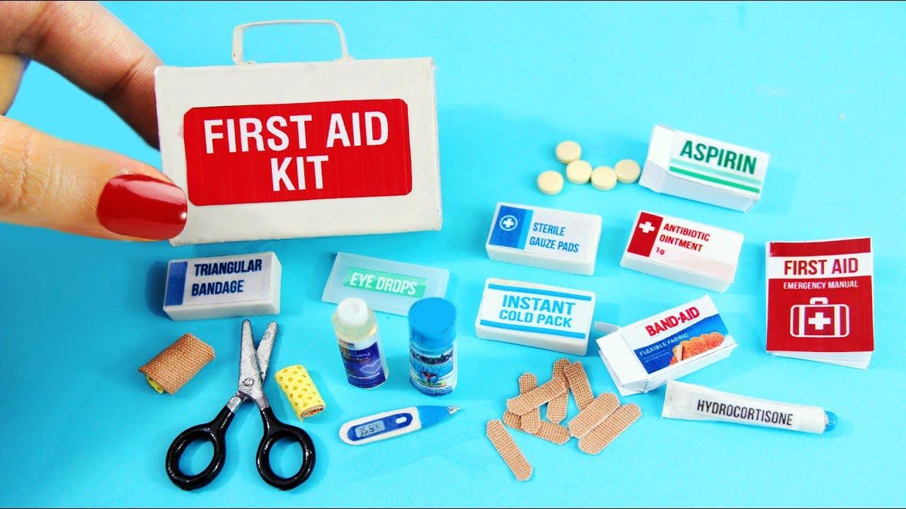 Hacer Miniatura Para Muñecas En Manualidades Auxilios Botiquín 10 Cómo Fáciles Primeros De cK3lFJT1