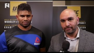 UFC 209: Alistair Overeem Post-Fight Interview on Fighting Smarter