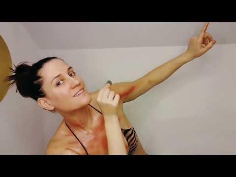 Jacina AKA miss Coyne - coining / kerokan / gua sha demo