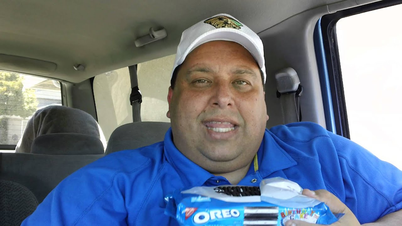 Birthday Cake Oreos Review Youtube