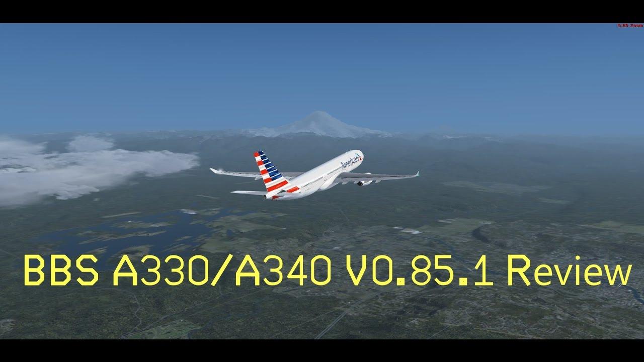 BlackBox Simulations A330/A340 V0 85 1 Review! // KSEA - KLAX // AAL41D