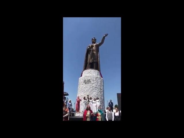 Откривање бисте Кнезу Лазару у Ћуприји на Видовдан 28. 06. 2020.