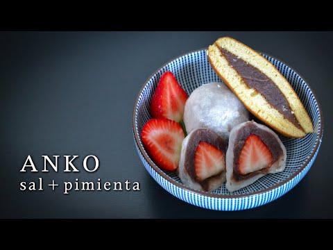Receta Anko ➡ El relleno tradicional de los dulces japoneses | Cocina Japonesa