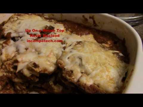 HOMEMADE Baked EGGPLANT Parmesan