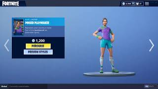SOCCER SKINS ARE BACK! Fortnite Item Shop Wednesday September 19, 2018