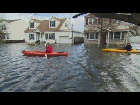 New York Residents Return To Flooded Homes