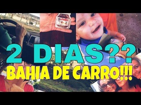 Ilana Bahia- VLOG VIAJANDO DE CARRO!!!