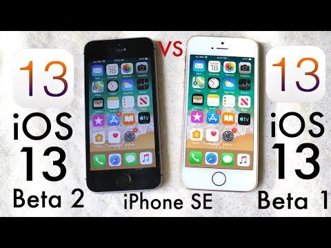 iPhone SE: iOS 13 BETA 2 Vs iOS 13 BETA 1! (Comparison)