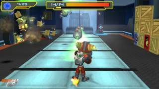 Ratchet & Clank El Tamaño Importa - La fábrica de robots - Planeta Kalidon - Parte 4 HD