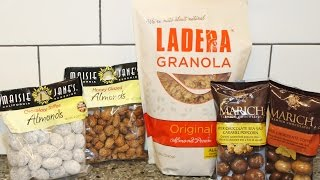 From California: Ladera Granola, Marich Chocolates & Maisie Jane's Almonds Review