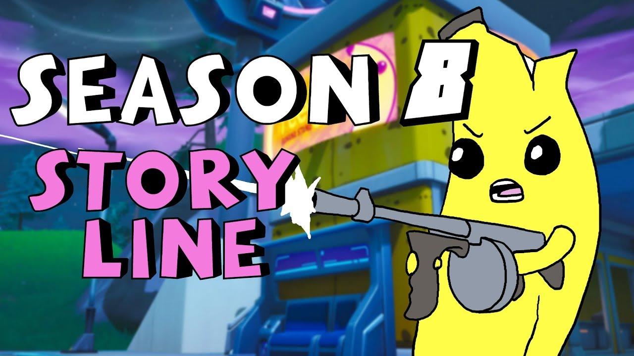 Fortnite Animated: The ENTIRE Season 8 Storyline