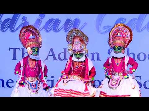 School Annual day Dance  Performance by Kids|The Adrian Gedulla'19|Kutanadan|The Adrian School Karur