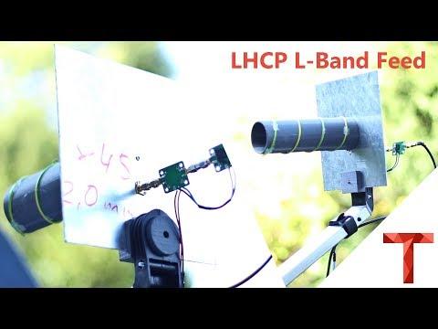 [EN subs] LHCP Helix L-Band Feed - 3D Druck für eine genaue Helix
