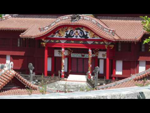 Syuri castle , Okinawa , Japan - Tour / Travel / Guide / Essence / World heritage