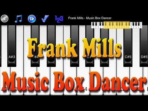 Frank Mills - Music Box Dancer - How to Play Piano Melody
