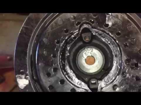 Ford Explorer Crankshaft position sensor And Harmonic balancer - YouTube