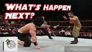 John Cena vs Daivari Blindfolded match Raw