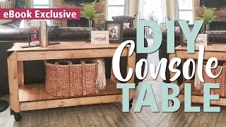 3-Tool Console Table | Shanty2Chic