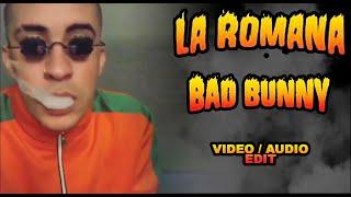 Pásame la Hookah - Bad bunny (Vídeo/Audio Edit)