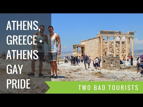 Discovering Athens + Gay Pride (Gay Travel Guide)