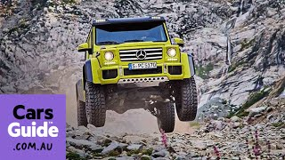 Mercedes Benz G500 4x4 Squared concept revealed