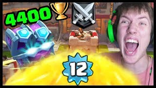 DAL SOM 4400 TROFEJÍ A LEVEL 12! + nová draft chest | Clash Royale #87