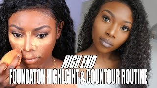 HIGH END FOUNDATION HIGHLIGHT & CONTOUR ROUTINE - AD