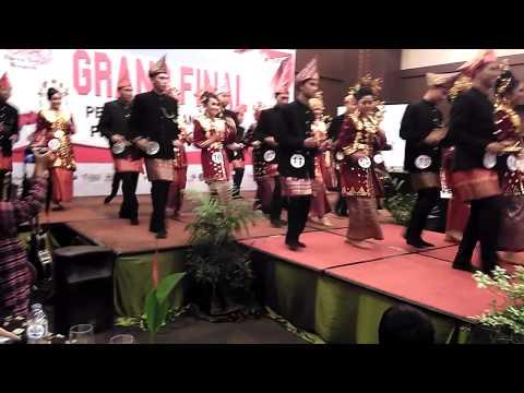 Opening Grand Final Bujang Gadis Bengkulu 2015
