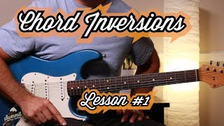 Must Know Moveable Chord Inversions Guitar Lesson 1