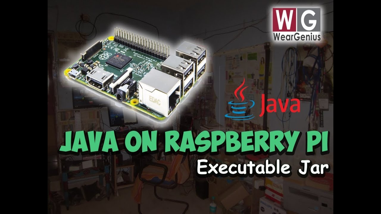 Running JAVA application on RPi | Raspberry Pi #2