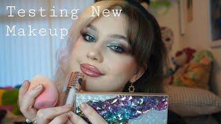 Testing New Makeup // Grunge Eye Makeup Look