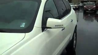 2011 Chevrolet Traverse LT AWD White Art Gamblin Motors V2117
