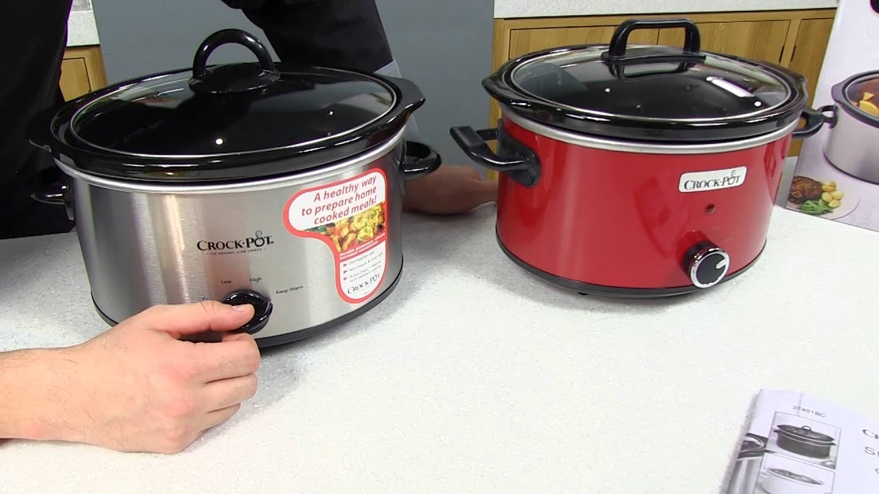 Slow cooker Crock Pot 3.5L - YouTube