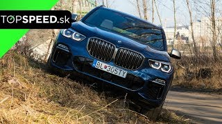 Systémy BMW X5 M50d test - Alex ŠTEFUCA TOPSPEED.sk