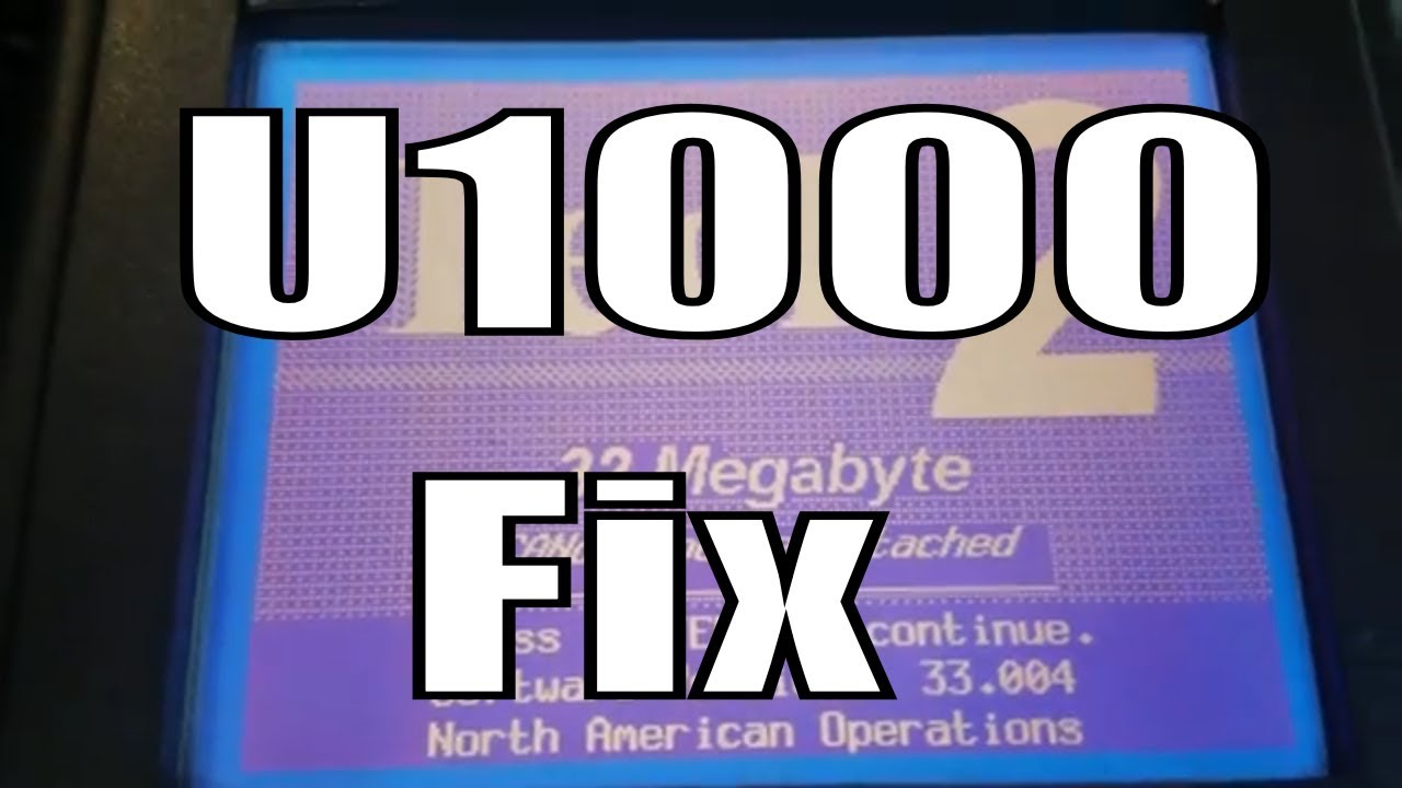 How to Fix a U1000 Code In Your Car