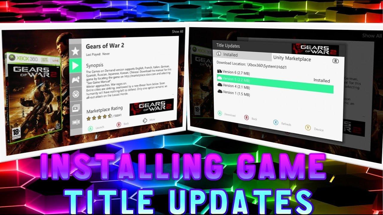 title update xbox 360 rgh
