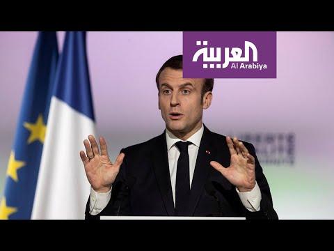 ماكرون: ندرس تدريب أئمة المساجد في فرنسا