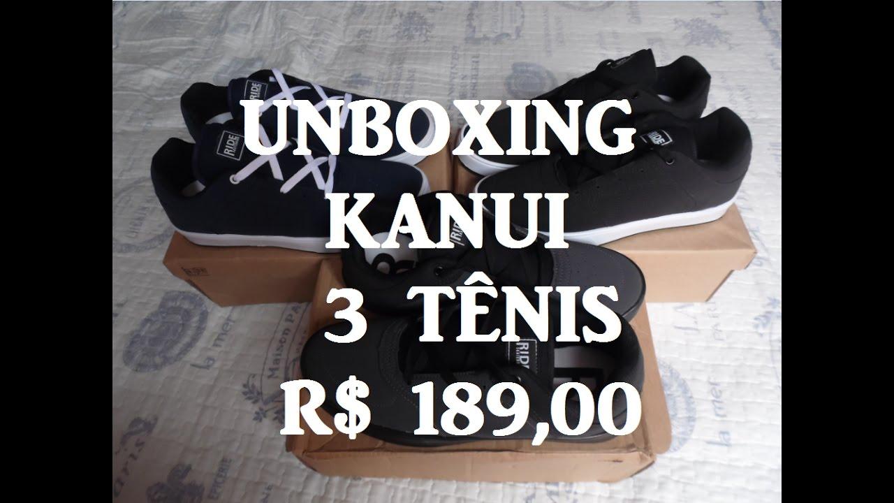 10  Unboxing KANUI - Promoção 3 Tênis por R  189 9efe05d8b56a5