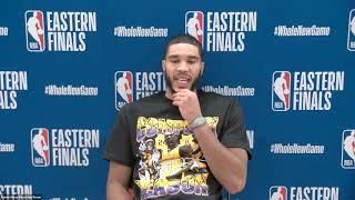 Jayson Tatum Postgame Interview   Game 3   Boston Celtics vs Miami Heat   September 19, 2020